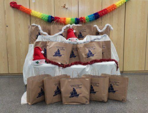 L'associació cívica la Nau participa amb la celebració del Nadal de la Fundació Viarany
